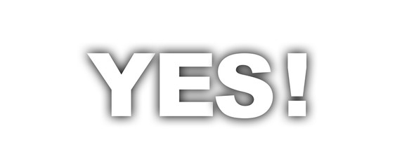 yes label