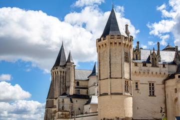 Saumur. Le château. Maine et Loire. Pays de Loire