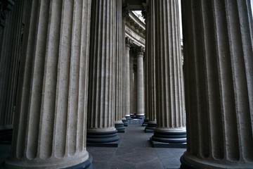 Columns of Isaakievski Sobor