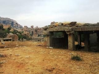 Die Ruinen von Hampi / Weltkulturerbe in Karnataka, Südindien
