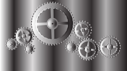 Vector, geometric background