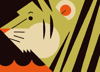 サーカスのトラ