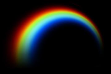 Rainbow Photo Overlays, rainbow clipart, Rainy day rainbow photoshop overlays