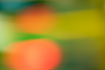 Blurred red with green blurred abstract background