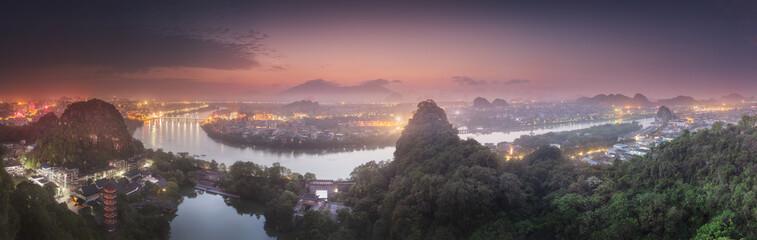 Li River and Karst mountains Guilin, Yangshuo