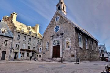 Eglise dans la ville de Québec.