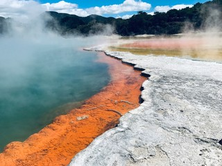 Champagner Pools, Neuseeland