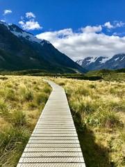 Hooker Valley Track, Neuseeland