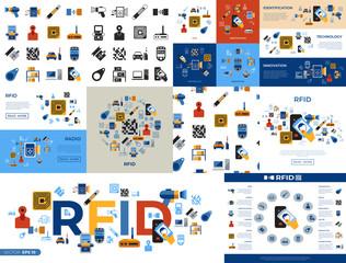 Digital vector rfid radio