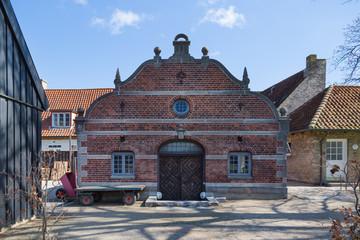 COPENHAGEN, DENMARK. House in the King's Garden at Rosenborg Castle