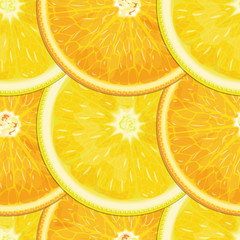 Lemon-orange seamless texture