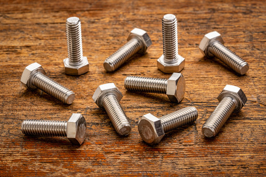 hex stainless steel bolts