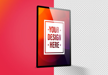 Vertical Tablet Mockup