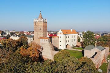Fototapeta Zamek Królewski w Łęczycy, Polska