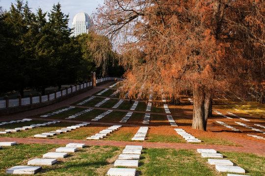Old Salem Cemetery North Carolina