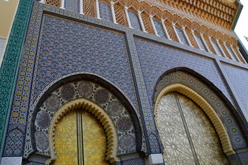Palacio Real de Fez, Marruecos, Africa