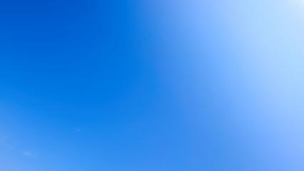 青空 グラデーション ワイド