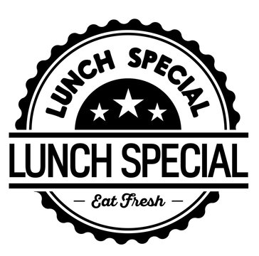 lunch special label