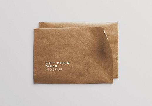 Brown Paper Mockup
