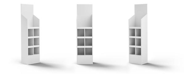 3D rendering, display, stojak, wystawa