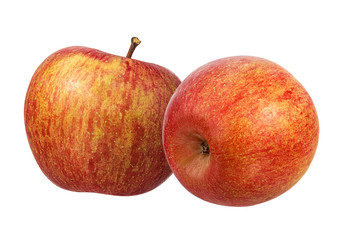Fototapete - Apple on a white background