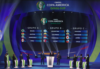 2019 Copa America Draw