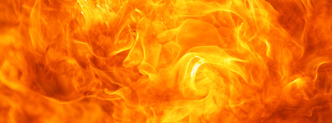 Deurstickers Vuur abstract blaze fire flame texture for banner background