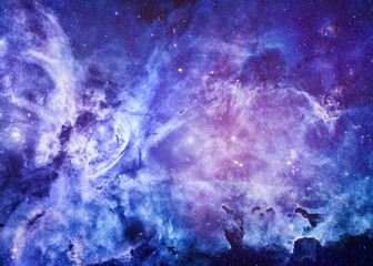 Distant Planet - Elements of this Image Furnished by NASA