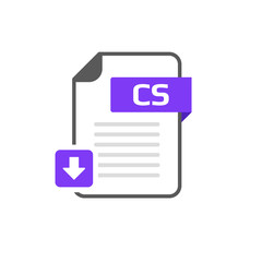 Download CS file format, extension icon