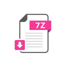 Download 7Z file format, extension icon