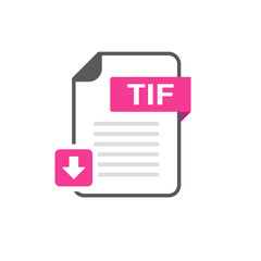 Download TIF file format, extension icon