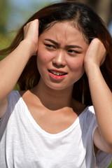 A Woman Under Stress