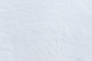 Fresh Snow Texture. Winter background. Snowy empty surface.