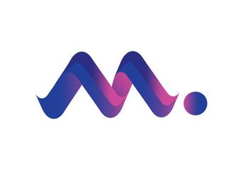 Modern music icon logo Design