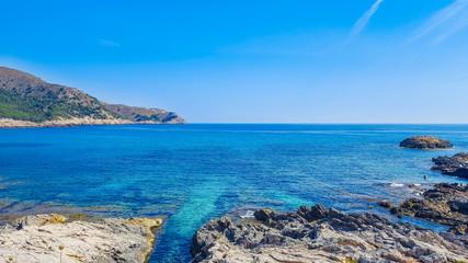 Mallorca beach and bay of Cala Agulla