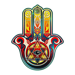 Hamsa Hand, All Seeing Eye, Protection Symbol, Evil Eye