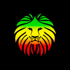 Like a Lion Reggae Africa Colors