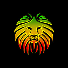 Like a Lion Reggae Africa Colors