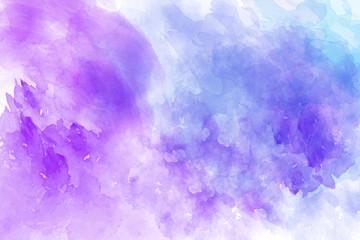 Purple vector watercolor background
