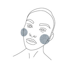 woman,singe line, abstract sketch, isolated vector hand drawn, lines drawing, figure of a woman or young girl.Drawing for textile, print, postcard, text, invitation, poster, background, book, t-shirt.