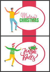 Merry Christmas and Jingle Bells, People and Party
