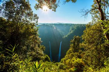 The Beautiful waterfall in laos at Tad Fane waterfall, Pakse, Laos