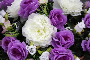 Fresh and fragrant roses