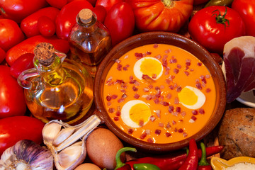 Salmorejo is a tasty, healthy Spanish traditional food