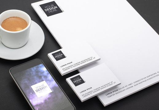 Brand Identity and Smartphone Mockup