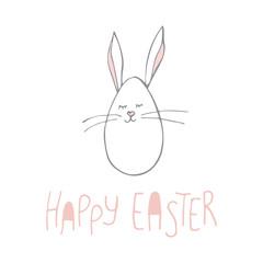 cute vector bunny