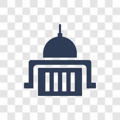 federal agency icon vector