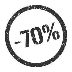 -70% stamp