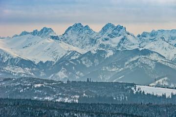Obraz Mountains Tatry landscape, Poland, Europe - fototapety do salonu