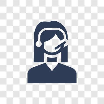 Customer service icon vector